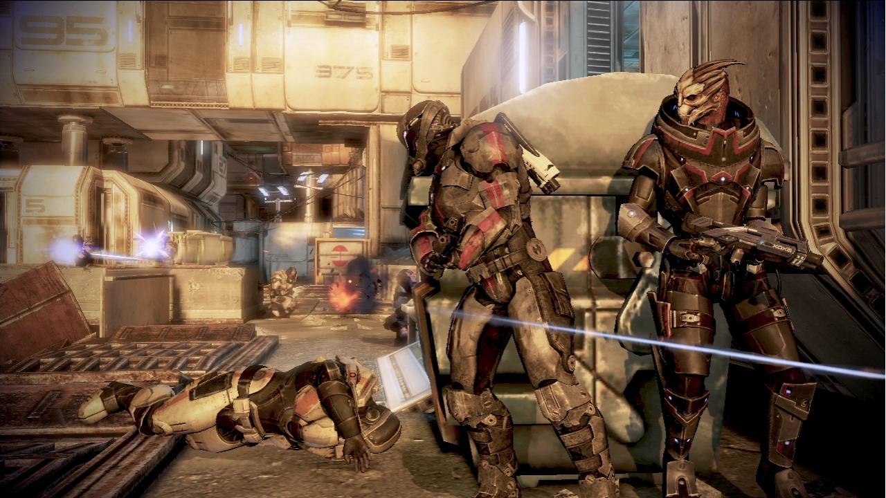 Mass Effect 3 Multiplayer Gameplay