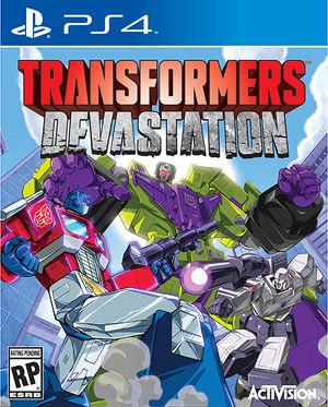 Transformers Devastation boxart