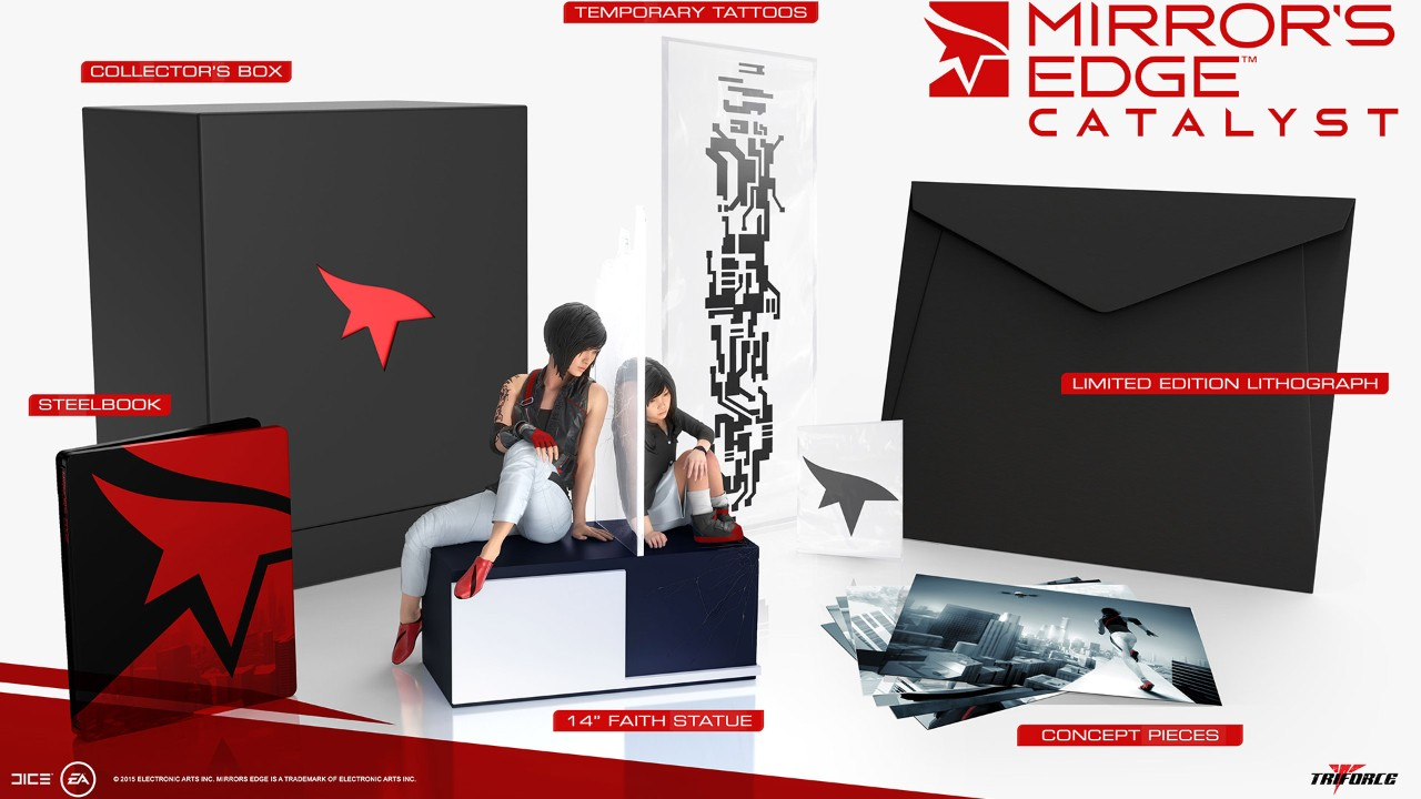 mirrors edge limited edition