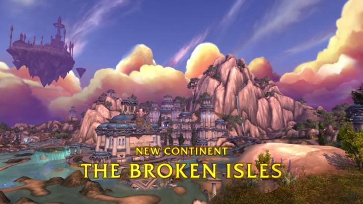 WoW Legion Broken Isles 2