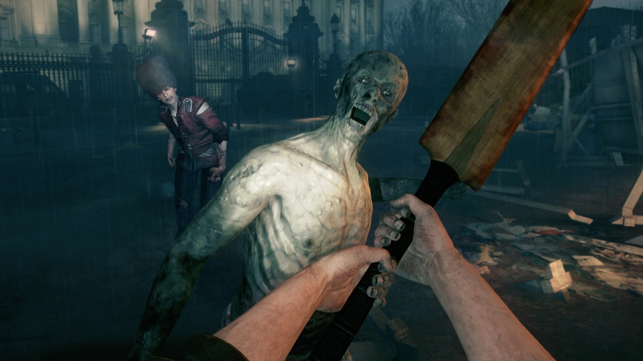 zombi melee