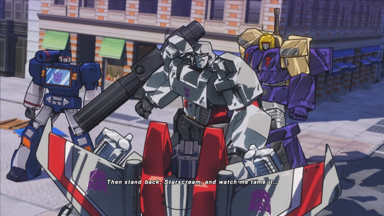 Transformers devastation cutscene