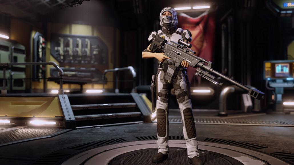Xcom 2 sniper rifle sharpshooter