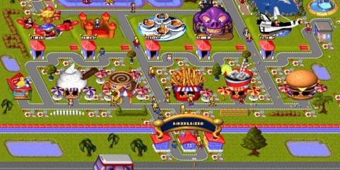 themepark front