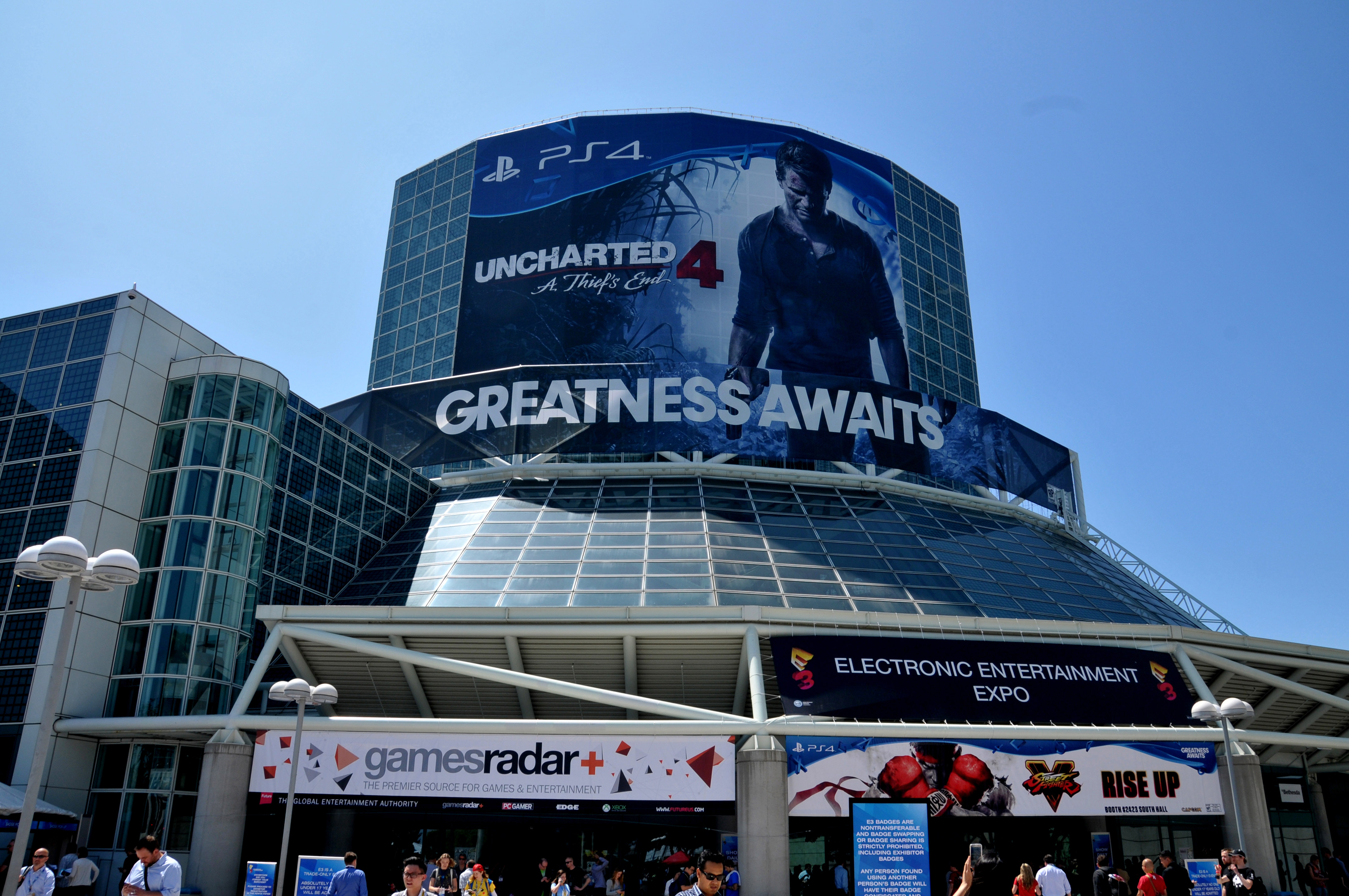 E3 Expo (Electronic Entertainment Exposition) at the Los Angeles Convention Center in Los Angeles, California on June 17, 2015