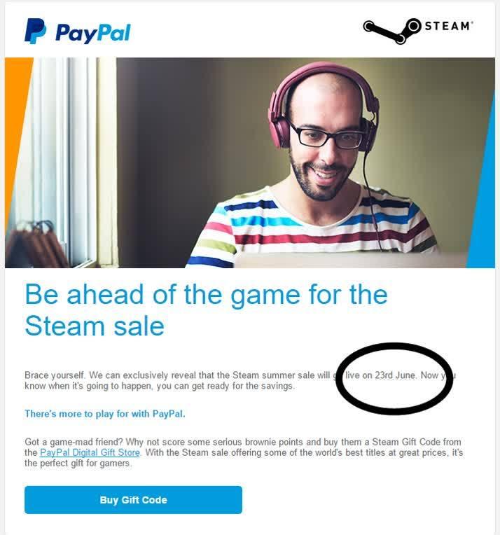 summersale 2016 Steam