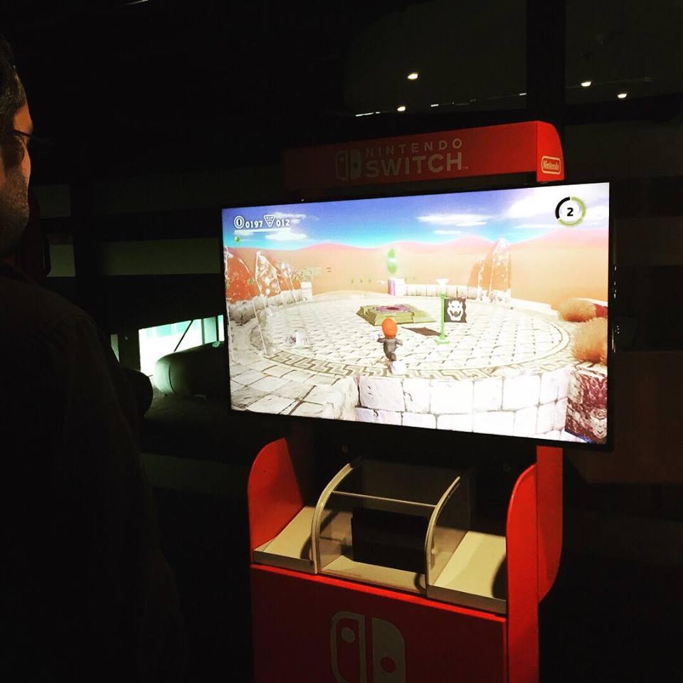 Nintendo e3 mario odyssey