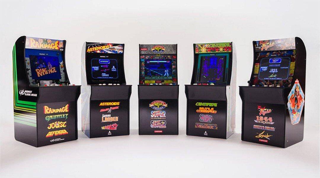 Arcade1up Brengt Arcadekast Naar Je Huiskamer Stargamers